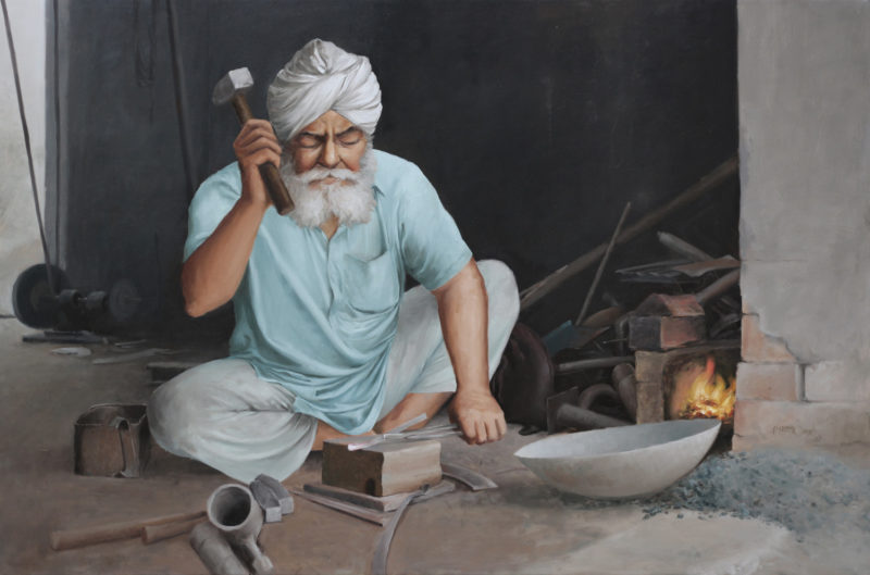 Luhar, 24x36 inches, Oil on Linen, Parm Singh