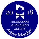 Active Member of Federation of Canadian Artists
